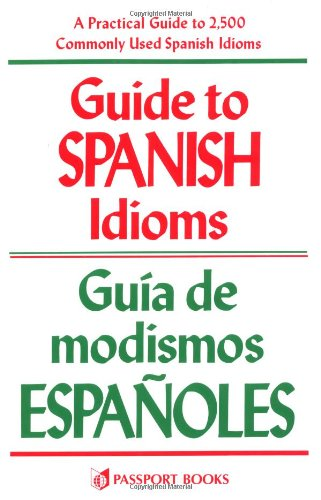 Guide to Spanish Idioms   1985 edition cover