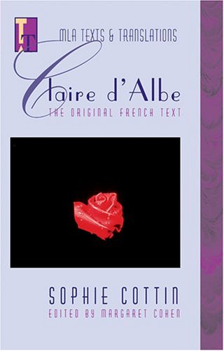 Claire d'Albe   2002 edition cover