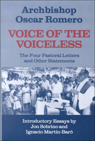 Voice of the Voiceless The Four Pastoral Letters and Other Statements N/A edition cover