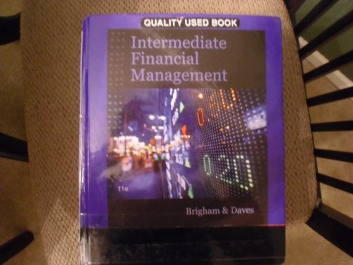 INTERMEDIATE FINANCIAL MGMT.-TEXT N/A edition cover