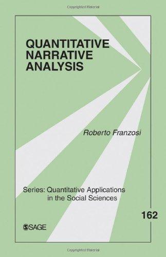 Quantitative Narrative Analysis   2010 edition cover