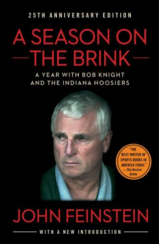 Season on the Brink A Year with Bob Knight and the Indiana Hoosiers N/A edition cover