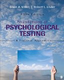 Foundations of Psychological Testing A Practical Approach 5th 2016 edition cover