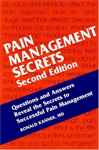 Pain Management Secrets  2nd 2003 (Revised) edition cover