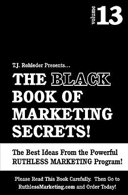 Black Book of Marketing Secrets  N/A 9781933356259 Front Cover