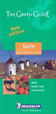 Spain Balearic and Canary Islands 5th 2003 9782061007259 Front Cover