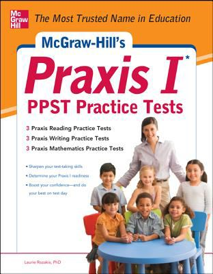 Praxis I PPST Practice Tests   2013 edition cover