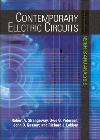 Contemporary Electric Circuits Insights and Analysis  2003 9780130934260 Front Cover