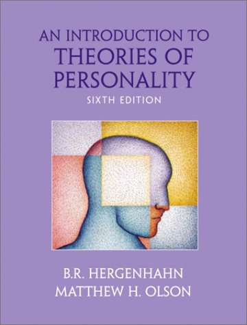 Introduction to Theories of Personality  6th 2003 9780130992260 Front Cover