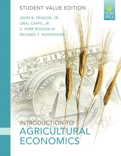 Introduction to Agricultural Economics, Student Value Edition  5th 2010 edition cover