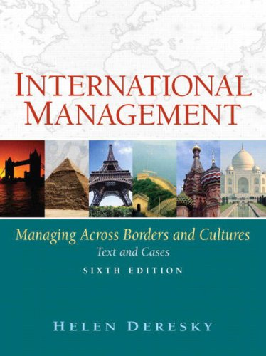 International Management Managing Across Borders and Cultures 6th 2008 edition cover