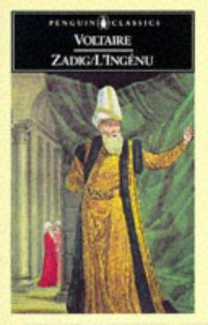 Zadig or l'Ingenu   1964 edition cover
