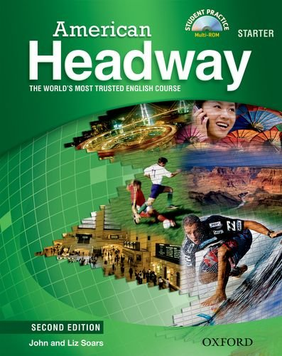 American Headway  2nd 2010 (Student Manual, Study Guide, etc.) 9780194729260 Front Cover