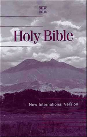 Holy Bible New International Version  1984 (Revised) edition cover