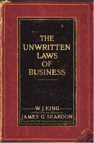 Unwritten Laws of Business   2007 edition cover