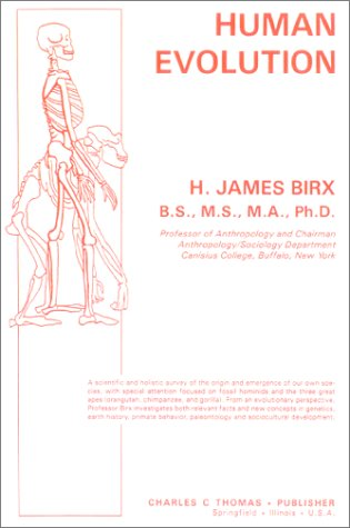 Human Evolution N/A edition cover