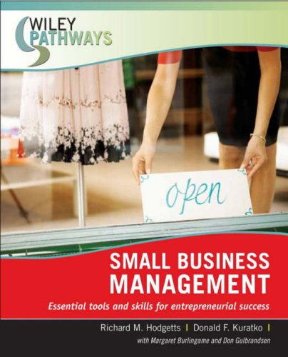 Small Business Management   2008 edition cover