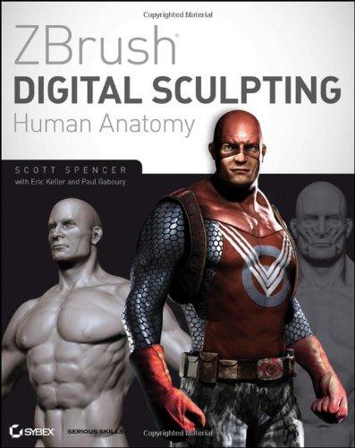 ZBrush Digital Sculpting Human Anatomy   2010 edition cover