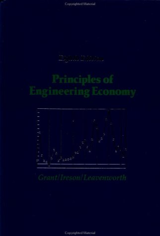 Principles of Engineering Economy  8th 1990 (Revised) edition cover