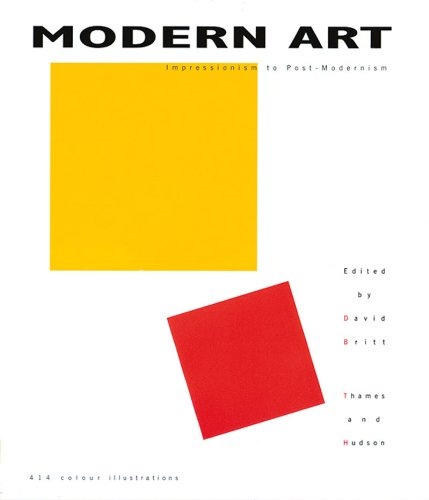 Modern Art Impressionism to Post-Modernism  1999 edition cover