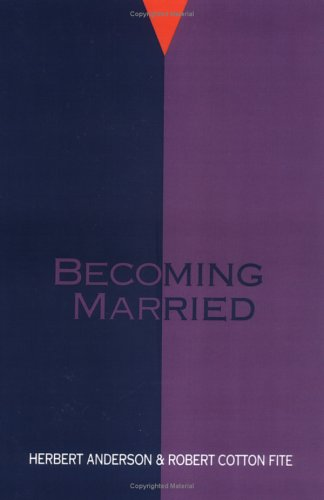 Becoming Married  N/A 9780664251260 Front Cover