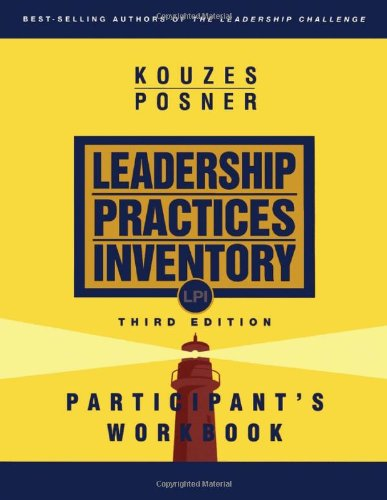 Leadership Practices Inventory (LPI) Participant's Workbook 3rd 2003 (Revised) edition cover