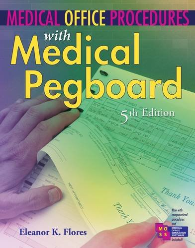 Medical Office Procedures with Medical Pegboard  5th 2013 edition cover
