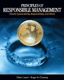 Principles of Responsible Management Glocal Sustainability, Responsibility, and Ethics  2015 edition cover