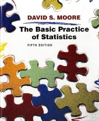 Basic Practice of Statistics  5th 2009 (Revised) edition cover