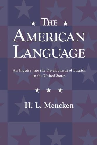 American Language  N/A edition cover