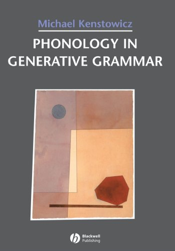 Phonology in Generative Grammar   1993 edition cover