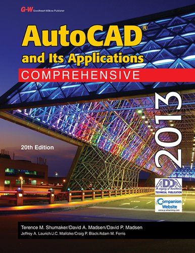 AutoCAD and Its Applications 2013 Comprehensive 20th 2013 edition cover