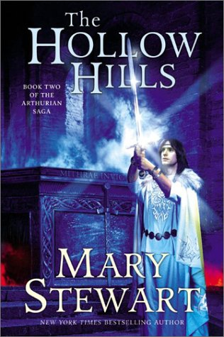 Hollow Hills Book Two of the Arthurian Saga  2003 9780060548261 Front Cover
