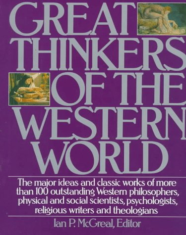 Great Thinkers of the Western World   1992 edition cover