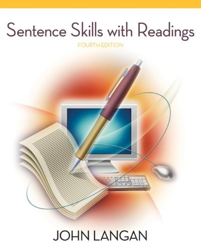 Sentence Skills with Readings  4th 2010 9780073533261 Front Cover