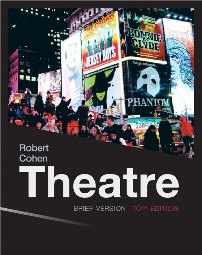 Theatre Brief Loose Leaf  10th 2014 9780077494261 Front Cover