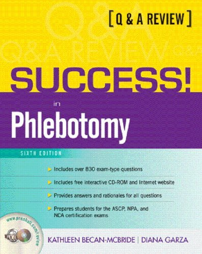 Success! In Phlebotomy  6th 2006 (Revised) edition cover