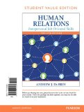 Human Relations Interpersonal Job-Oriented Skills, Student Value Edition 12th 2015 edition cover