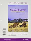 Management A Focus on Leaders, Student Value Edition Plus 2014 MyManagementLab with Pearson EText -- Access Card Package 2nd 2014 edition cover