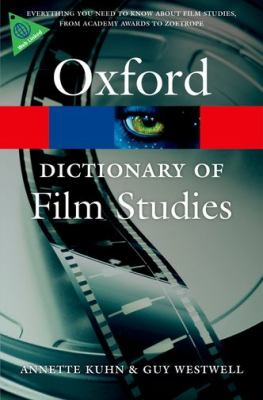 Dictionary of Film Studies   2012 edition cover