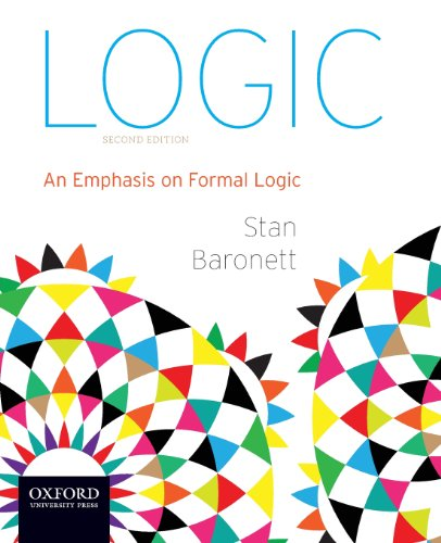 Logic An Emphasis on Formal Logic N/A edition cover