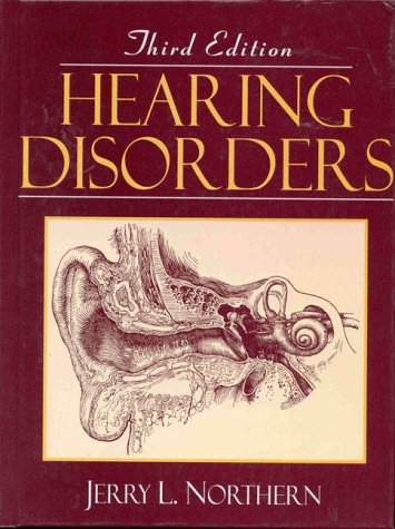 Hearing Disorders  3rd 1996 edition cover