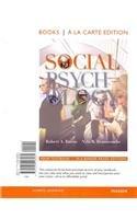 Social Psychology, Books a la Carte Edition  13th 2012 edition cover