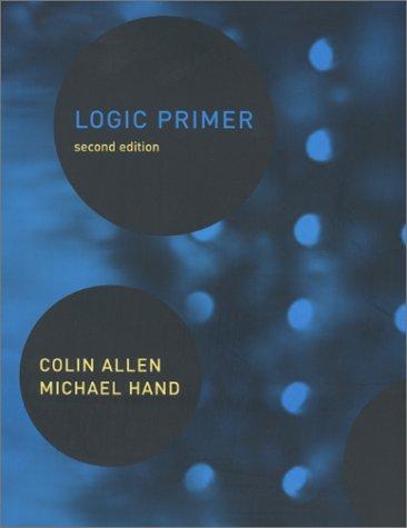 Logic Primer  2nd 2001 edition cover