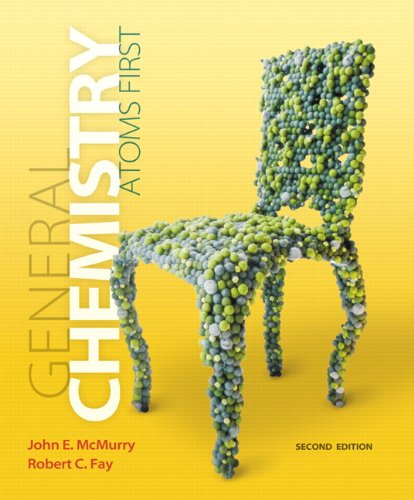 General Chemistry Atoms First 2nd 2014 9780321809261 Front Cover