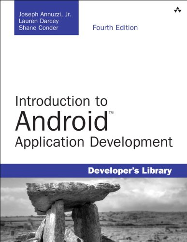 Introduction to Android Application Development Android Essentials 4th 2014 edition cover