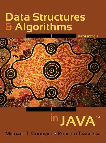 Data Structures and Algorithms in Java  5th 2010 edition cover
