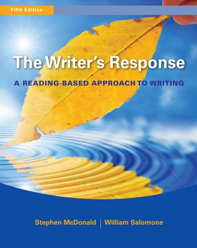 Writer's Response A Reading-Based Approach to Writing 5th 2012 edition cover