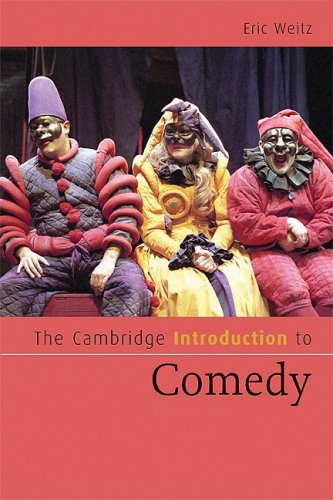 Cambridge Introduction to Comedy   2009 9780521540261 Front Cover
