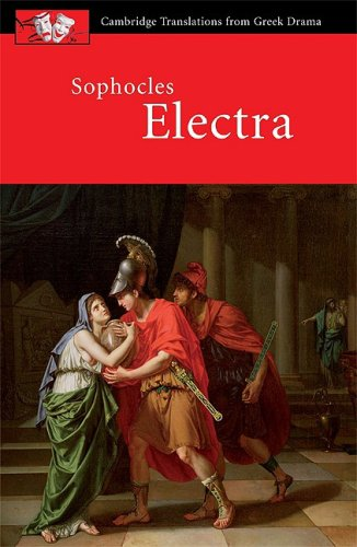 Sophocles: Electra   2008 edition cover
